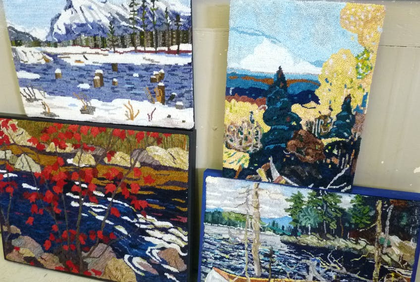 Shown here is a collection of some of the work that will be shown at the exhibit at The Fairbanks Centre by Dartmouth and Eastern Shore Matters members.