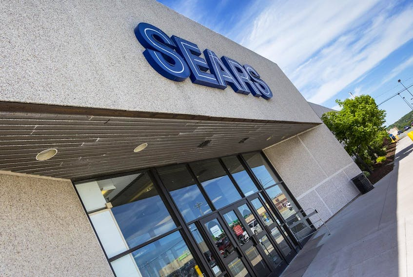 The former Sears at Penhorn Mall in Dartmouth is seen in this 2017 file photo. Sears, Nortel and other corporate pensioners experienced sharp reductions in their annual pension income after those companies failed.