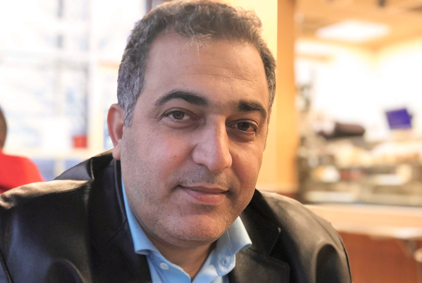 Loai Al Refai is a doctor who immigrated to Canada and would like to practise in the country. - Maan Alhmidi
