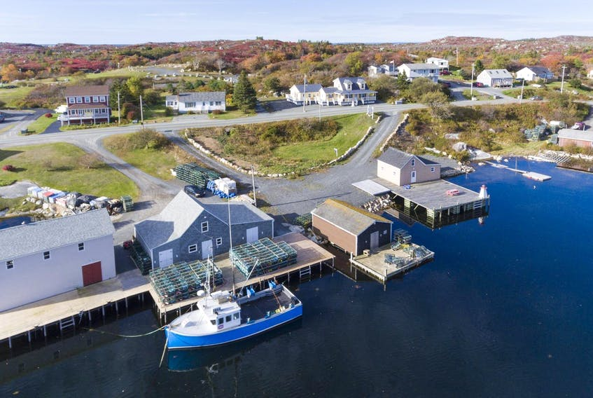The fishing town of West Dover, which sit along the Chebucto Peninsula in Halifax County. Recent regulatory changes have now given more clarity to what kinds of economic actions are-or-aren't allowed in a marine protected area. - File