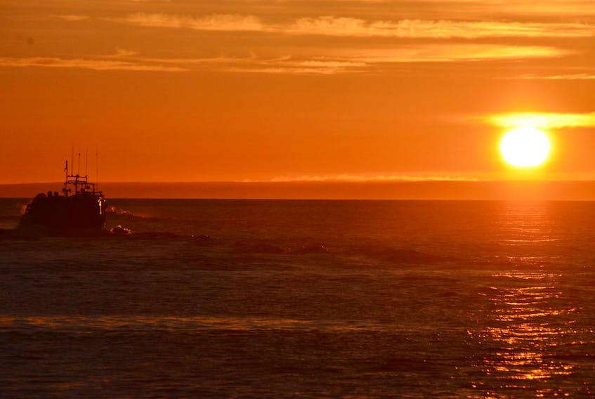 Friday was setting day in lobster fishing area 26a along this province's North Shore. - Aaron Beswick