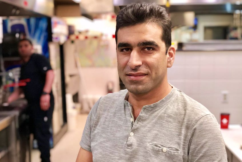 Mohammad Al Habash works hard to build a new life for his family in Canada.