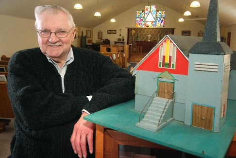 Robert Anthony has recorded a CD of gospel favourites to raise money for Holy Trinity Emmanuel Church in Dartmouth.