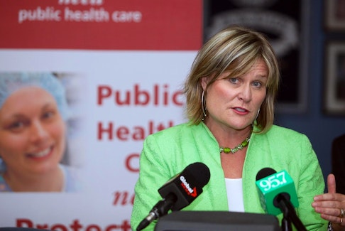 Janet Hazelton, president of the Nova Scotia Nurses Union: 'It used to be five, 10 years ago . . . if we tried to report (violence), that's what we were told — it's part of your job. That's not the reaction that this employer has anymore and that's fantastic.' - Eric Wynne