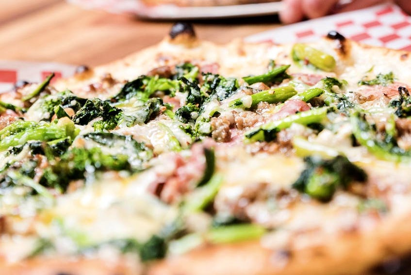 Whether you love pizza or burgers, this cold weather demands some comfort food. - Jose Soriano