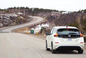 Nissan Leaf. - Justin Pritchard
