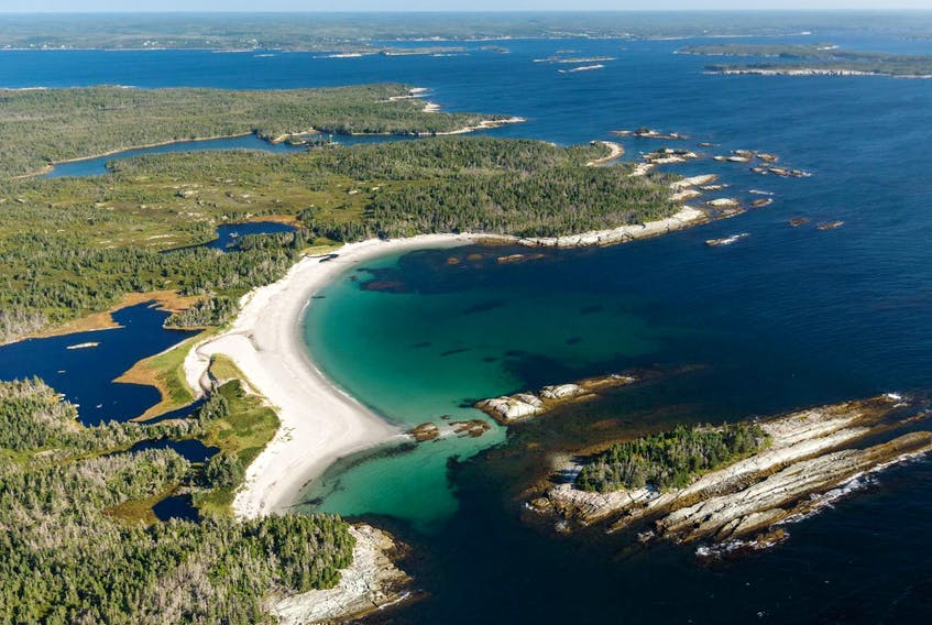 The 100 islands area on the Eastern Shore, a marine protected area. - Nick Hawkins
