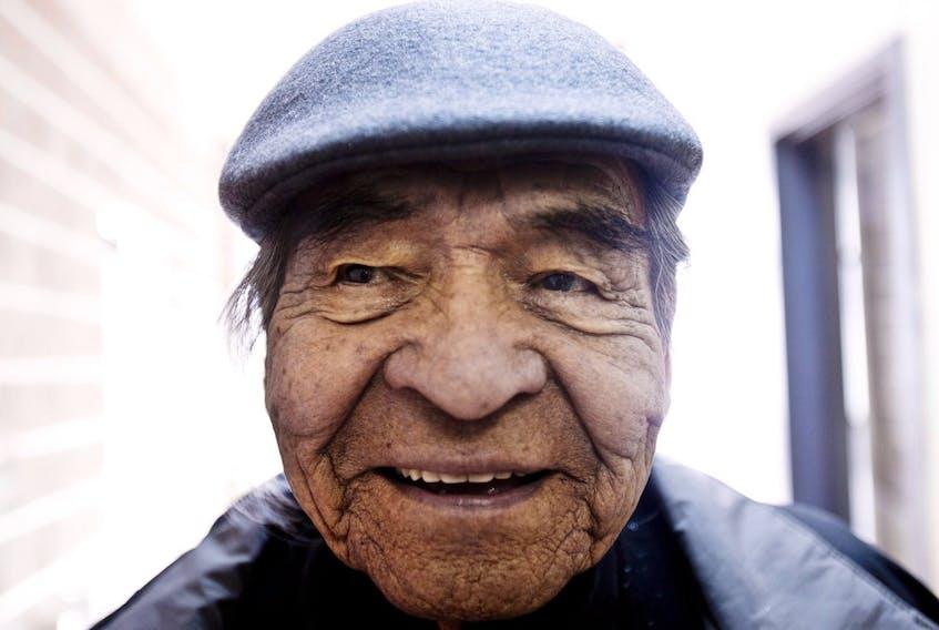 A portrait of Doug Knockwood taken in Indian Brook in 2013. - Christian Laforce