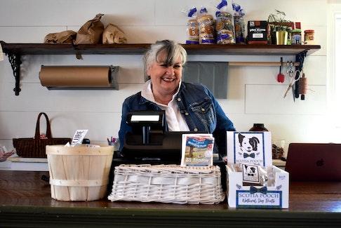 Julie Senior operates the Fisherman's Picnic General Store in Lunenburg.