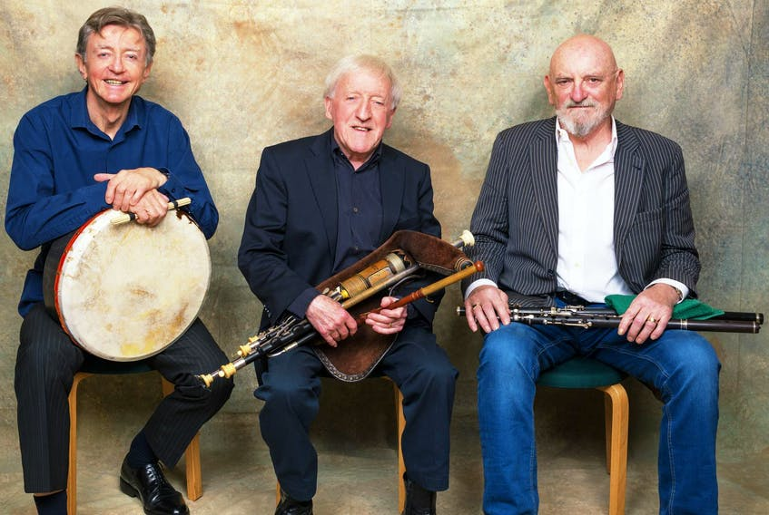 Chieftains members Paddy Moloney, Matt Molloy and Kevin Conneff will be joined by a host of compatriots from the worlds of music and dance as they celebrate their 57th year of taking traditional Irish music around the globe.