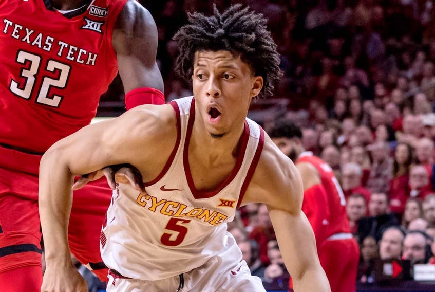 Dartmouth's Lindell Wigginton, seen here playing for the Iowa State Cyclones, is said to have been picked up by the Toronto Raptors to play in the NBA summer league. - Iowa State University