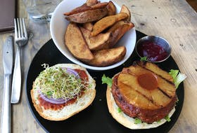 A seitan barbecue burger with grilled pineapple is an example of new vegan cuisine. Sylvain Charlebois says plant-based diets are slowly going mainstream. The entire food supply chain, from farm to fork, is adapting to a consumer looking for alternative sources of protein. - Contributed