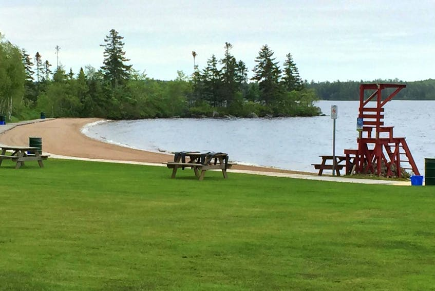 A clear water test has reopened Aylesford Lake Beach in time for Canada Day weekend. - Ian Fairclough