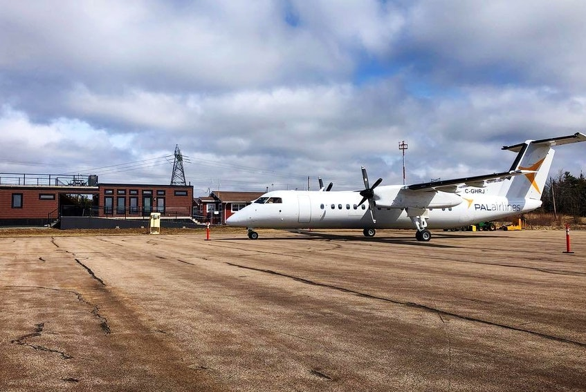 Little consideration appears to have been given to the impact the rumoured $18 million investment in an airport near Cabot Links, writes president of the Nova Scotia Federation of Municipalities Waye Mason. - Facebook/Celtic Air Services