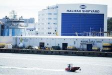 Irving's Halifax Shipyard. - Ryan Taplin / File