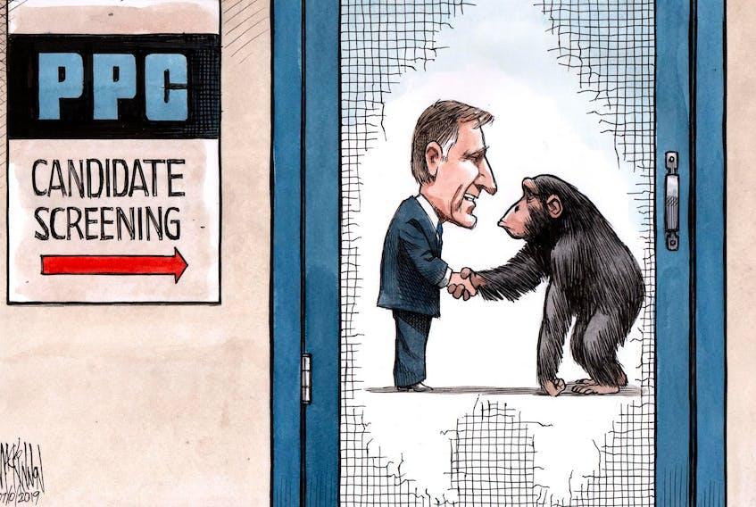 Bruce MacKinnon's editorial cartoon, originally published on July 10, 2019
