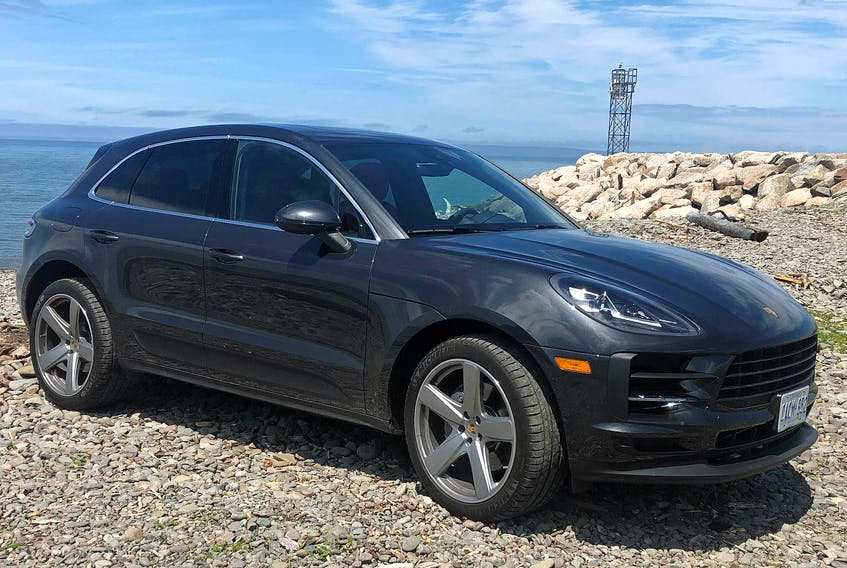 The 2019 Porsche Macan S is powered by a turbocharged, 3.0-litre V6 that makes up to 348 horsepower and 352 lb.-ft. of torque.