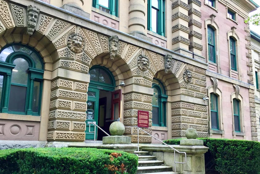 Halifax provincial courthouse is seen on Tuesday, July 25.