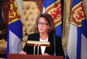 Nova Scotia Finance Minister Karen Casey Casey said the government will continue to focus on fiscal sustainability, economic growth and Nova Scotian's priorities. - Eric Wynne / File