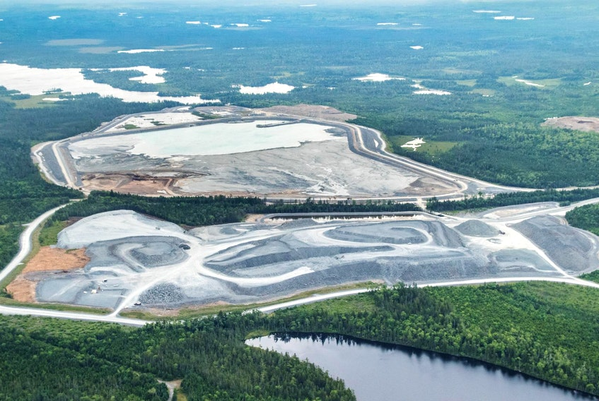 Atlantic Gold's Moose River gold mine. - Raymond Plourde