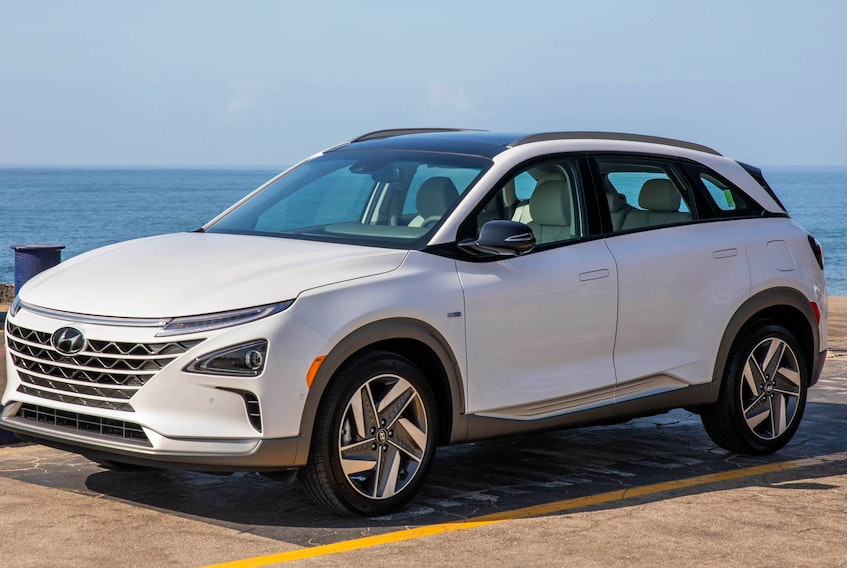 The 2019 Hyundai Nexo is an entirely new vehicle with nothing carried over from any other Hyundai product. - Jay K. McNally