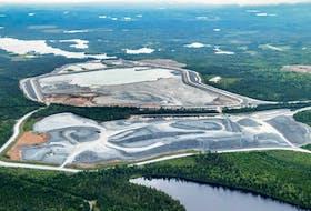 Atlantic Gold's Moose River gold mine. - Raymond Plourde