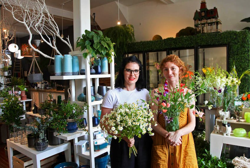 Ashley MacNeill and Jayme Melrose have opened Props Floral Design in the Hydrostone in Halifax.
