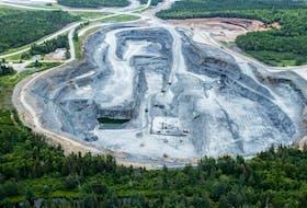 Atlantic Gold's Moose River gold mine. - Raymond Plourde - Ecology Action
