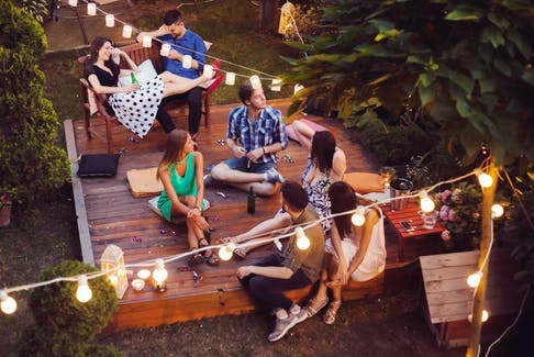 Invite just a few friends over rather than a big crowd. As you gain confidence and feel comfortable in your role as host, you can gradually increase the number of guests you invite. - Sladic Getty Images/iStockphoto