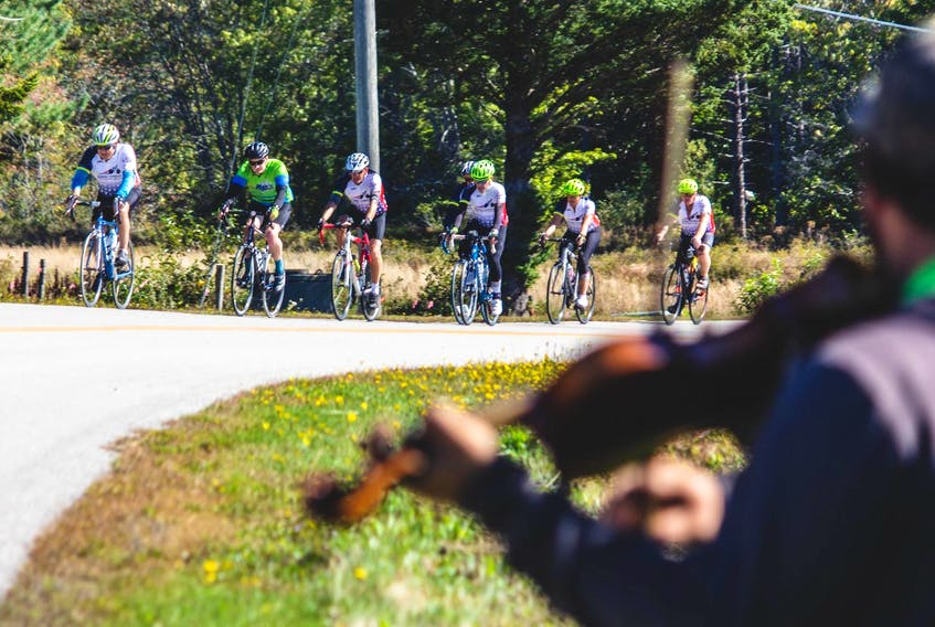 The Baie Sainte-Marie Gran Fondo, held on Nova Scotia's Acadian Coast on Sept. 23, is the largest such event in Atlantic Canada. In its fifth year, the cycling weekend expects to have about 1,000 participants riding in the Clare region. - Joey Robichaud