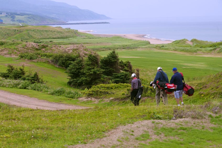 A par 3 course and an 18-hole course to join Cabot Links and Cabot Cliffs are under consideration as next projects.  HERALD FILE