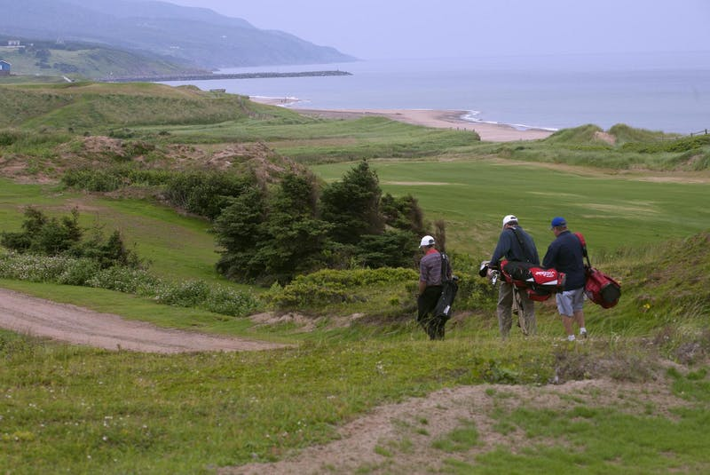 Cabot golfers enjoy a round on the west coast of Cape Breton at Inverness in this file photo. - The Chronicle Herald
