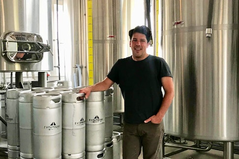 Alex Clark, owner of Evermoore Brewing Company, could have launched his businesses elsewhere but has put his faith in Summerside, P.E.I.'s second largest city. He has also recently announced his candidacy for the Green Party in the upcoming federal election. . - Pat Lee