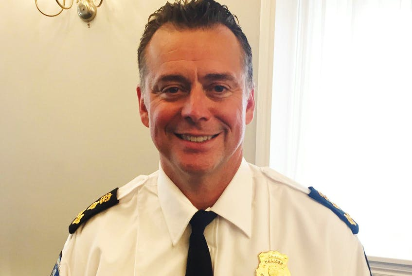 Dan Kinsella is settling into his new job as chief of Halifax Regional Police. Previously, he served with the police in Hamilton since 1986, including two-and-a-half years as that city's deputy chief. - FRANCIS CAMPBELL