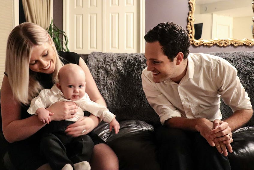 Mike and Chelsea Coady started dating after his accident. Ten years later they had their son Seth. - Andrew Bethune