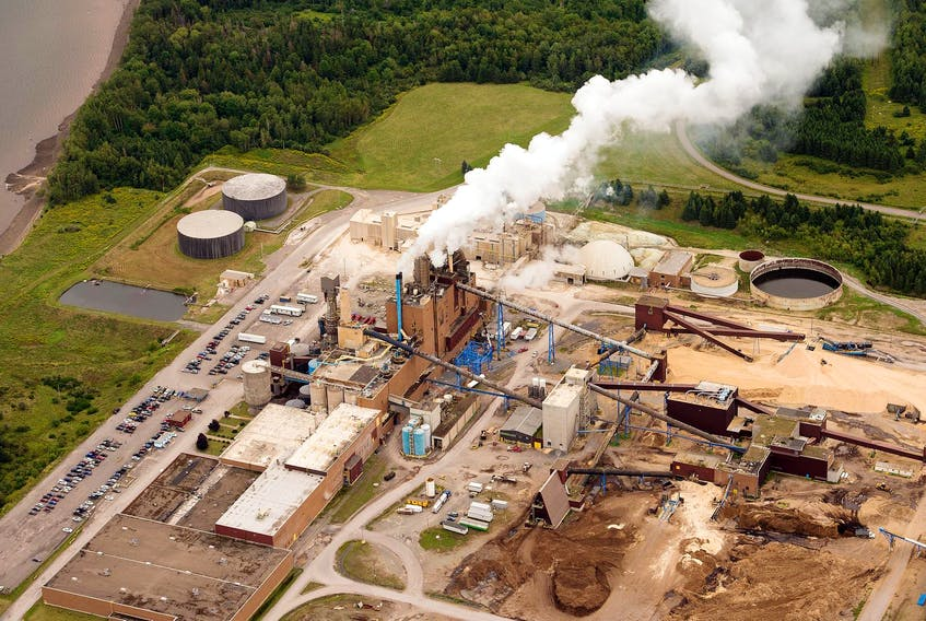 In a secret agreement with Northern Pulp, the provincial government agreed to pay for part of the mill's environmental assessment of its new effluent treatment plant. - File