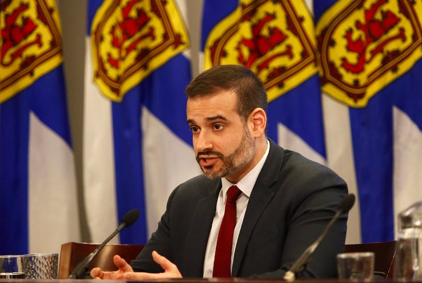 Education Minister Zach Churchill said regional education centres already have the funds to provide all students with menstrual products. - File