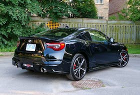 The 2019 Toyota 86 GT SE received a flight of Toyota Racing Development (TRD) parts, including a dual exhaust that makes you feel like you're sitting directly on the muffler when you start the engine.