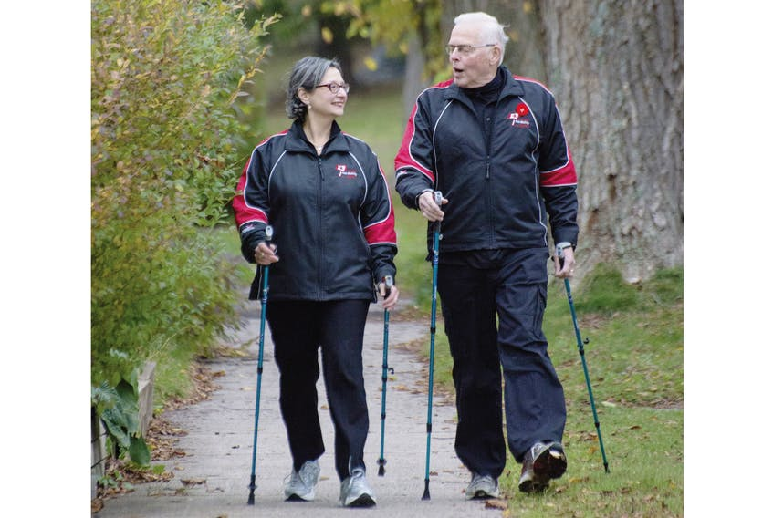 Esther and Bill VanGorder operate Nordixx Nordic Poles & Supplies Sales and Distribution.