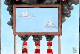Bruce MacKinnon's cartoon from March 29, 2018