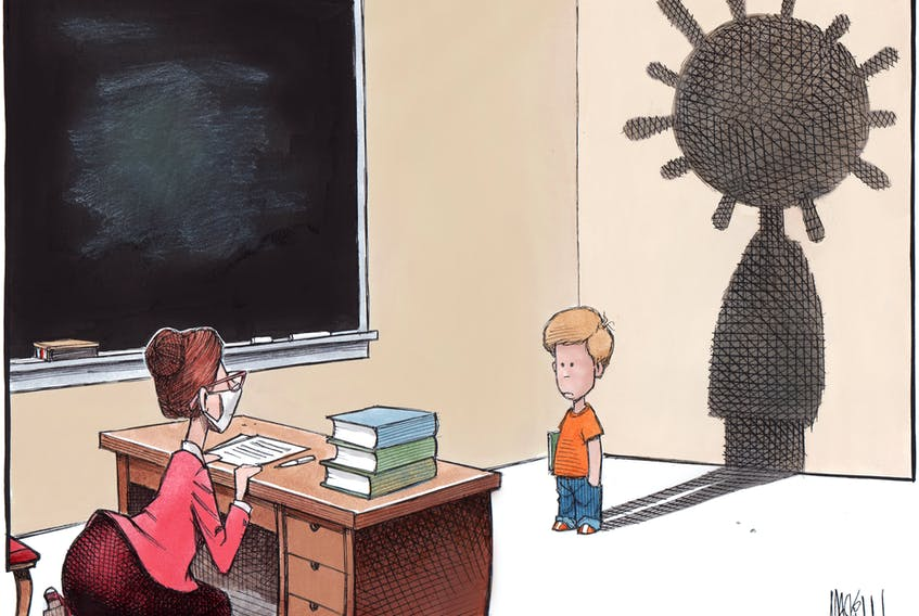 Bruce MacKinnon's editorial cartoon for July 22, 2020.