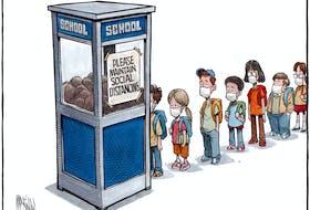 Bruce MacKinnon's editorial cartoon for Aug. 27, 2020.