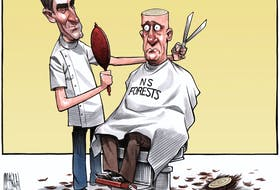 Bruce MacKinnon's cartoon for Sept. 2, 2016.