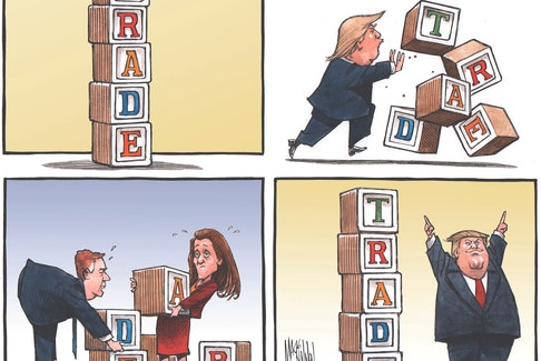 Editorial Cartoon by Bruce MacKinnon
