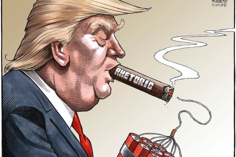 Bruce MacKinnon's editorial cartoon for Oct. 25, 2018