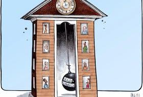 Bruce MacKinnon's editorial cartoon for December 4, 2020.