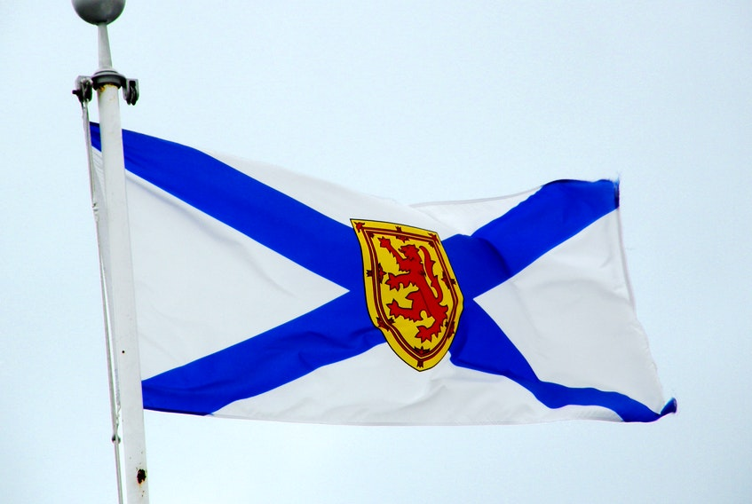 A Nova Scotia flag is seen in this file photo.