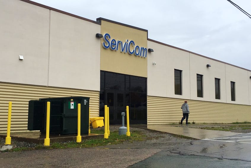 ServiCom Canada Ltd. owes thousands of dollars to five unsecured creditors based in Cape Breton. The call centre's parent company, JNET Communications, filed for bankruptcy protection on Oct. 19, resulting in late pay for staff and a cleaning company pulling its services due to non-payment.