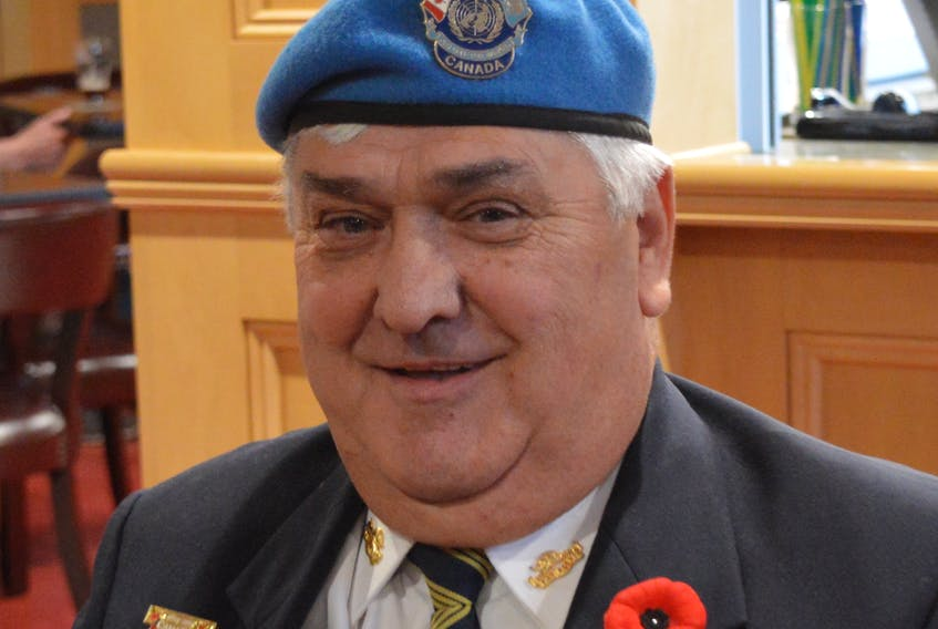 Dave Kane wanted to see the world, so he joined the army. DAVID JALA/CAPE BRETON POST