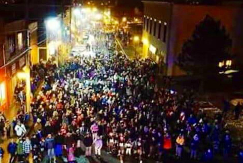 Glace Bay's annual Christmas Light Up has attracted thousands to the community's downtown, as it did in 2017. This year, organizer Bayitforward is adding a stationary parade to the event.